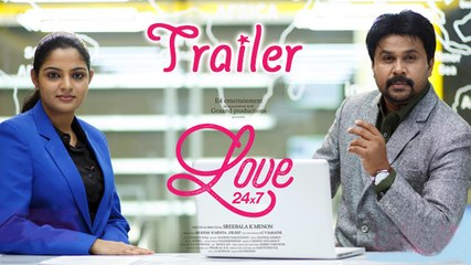 LOVE 24X7 OFFICIAL TRAILER | Dileep | REVIEW