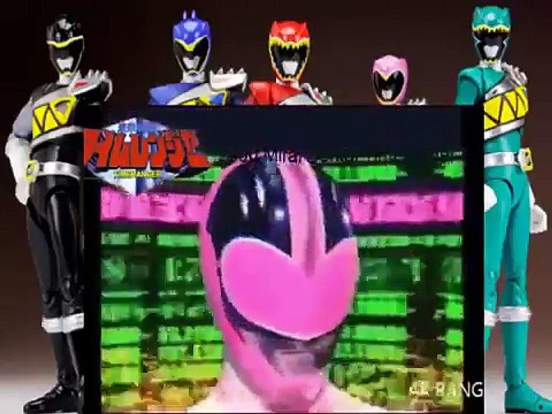 All power Rangers and Super Sentai Henshin 1992 2015