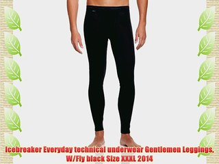 ICEBREAKER NEW BF200 Body Fit Legging With Fly Size XXL XXXL
