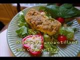 Cake croustillant aux Courgettes recette de cuisine facile et rapide A la portée de tous