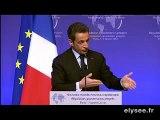 """Discours de Nicolas Sarkozy à l'ouverture du colloque """"Nouveau monde, nouveau capitalisme"""""""