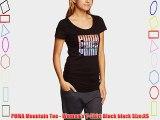 PUMA Mountain Tee - Women's T-Shirt Black black Size:XS