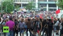 Grèce : heurts entre police antiémeute et manifestants d'extrême gauche à Athènes