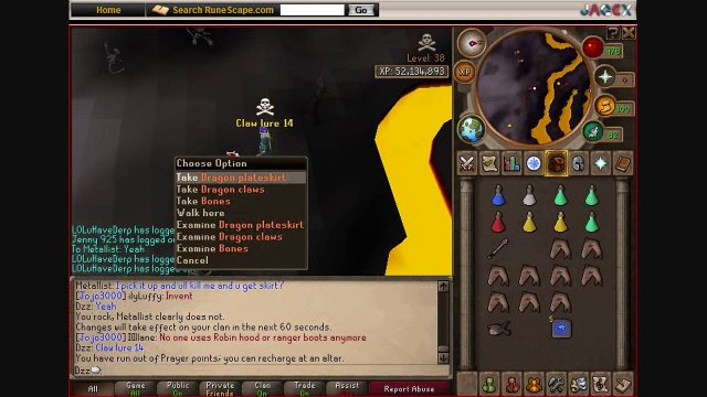 Dzz (Mdawg4life2) | Luring Video | 41 Dragon Claws Lured  | 1B+ Total