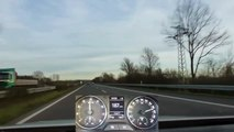 2013 Skoda Rapid Spaceback 1.2 TSI (105hp) German Highway