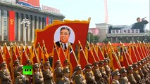North Korean Army & Peoples Parade 2013 [HD][Summary by Russia Today]