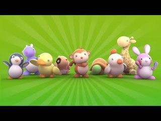 Monkey Moves - Looi TV for kids