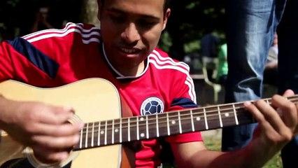 Musique de Game of Thrones - Jogaki Capoeira Paris 2015 - GOT Guitare