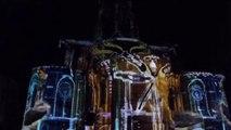 Spectacle son et lumiere à la basilique de Brioude