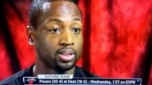 Sports Center Conversation : Dwyane Wade