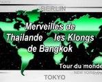 Thailande Vidéo découverte des Canaux ( Klongs ) de Bangkok ( Bangkok Thailand the klong )