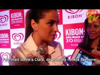 Giovanna Antonelli fala sobre a personagem homossexual Clara