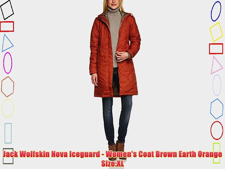 Jack Wolfskin Nova Iceguard Women's Coat Brown Earth