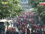 Caracas: Marcha de la Juventud venezolana con el Proceso Revolucionario