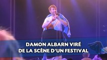 Damon Albarn viré de la scène d'un festival