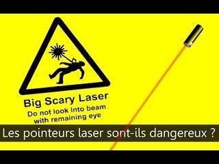 Les pointeurs lasers sont-ils dangereux ? Scilabus 28
