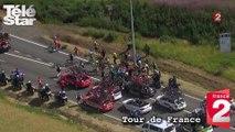 Tour de France - La terrible chute de l'étape Anvers-Huy - Lundi 6 juillet 2015