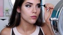 Vampy Makeup Tutorial | Winged Eye Liner, Brown Eyes & Vampy Lips