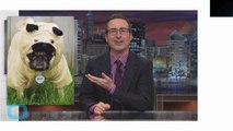 John Oliver Tackles 15 Topics in One Minute Including Orgies, Bagels and Conspiracy Theories