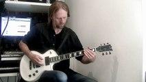 MUSE 'Plug in Baby' - Guitar cover by Loïc Tézénas