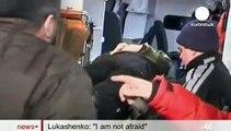 Lukashenko entrevista en el manipulador canal Euronews de la Unión Europea gringa