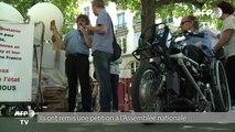 """Handicap: pétition contre une réforme de la """"loi accessibilité"""""""