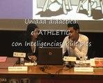 Daniel y Marta en su ponencia del VI Congreso FNCE sobre inteligencias múltiples