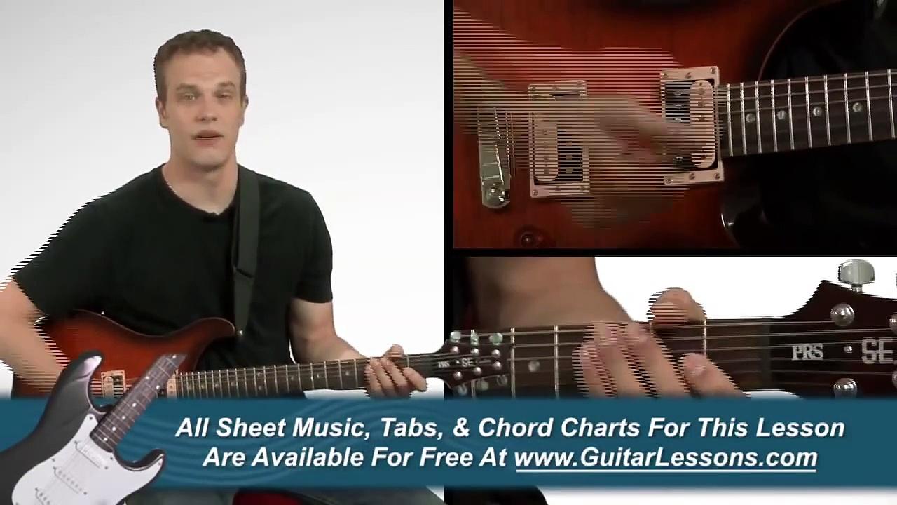 Essential Guitar Chords – Guitar Lesson