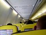 Despegue avión Ryanair desde Barajas(Madrid-España) con destino Charleoi(Bruselas-Bélgica)