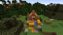 Minecraft Tutorial: How to Build A Dog House