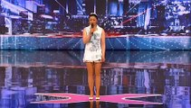 America's laughing at Mel B's accent during AGT audition