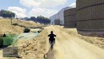 Grand Theft Auto V moto cross