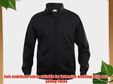 Mens Zipped sweatshirt/ zip top. Zipped side pockets I Pod/Phone loop. 10 colours incl. Hi