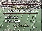 1980: Michigan 45 Illinois 14