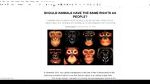 Environmental Science Animal Welfare and Animal Rights | science project for kids | science project