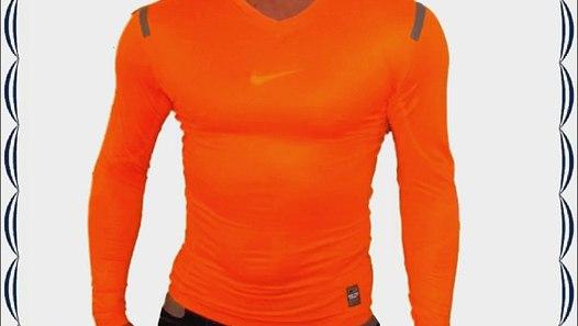 Nike Pro Combat Hypercool Compression BaselayerTop Orange