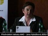 Předvolební debata (5/6) - Jana Hybášková (KDU-ČSL)