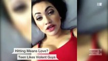 Teen defends 'hitting means love' statements