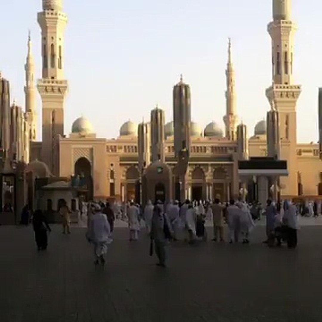 Masjid e nabawi ki chatri band hone ka tareqa