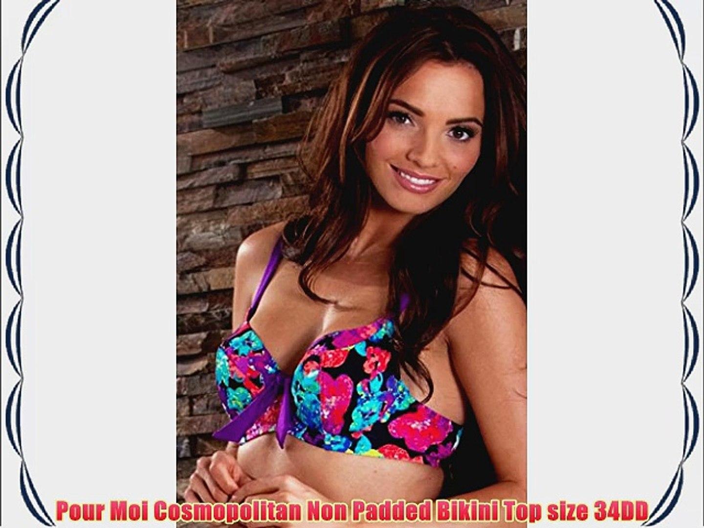 Freya Swimwear Fever Sweetheart Padded Bikini Top Black 3327