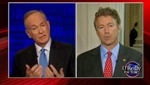 Bill O'Reilly vs Rand Paul on the O'Reilly Factor about the NSA