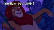 Lion King - You're the King! one line multilanguage