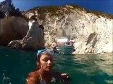 Как нужно отдыхать на море. Греция, Средиземное море.