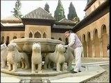 Patio de los Leones de alhambra, restauracion / almusafir.es