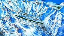 Ski- Les 3 Vallées- Les menuires- Merbel-Courchevel-Val Thorens- 2014