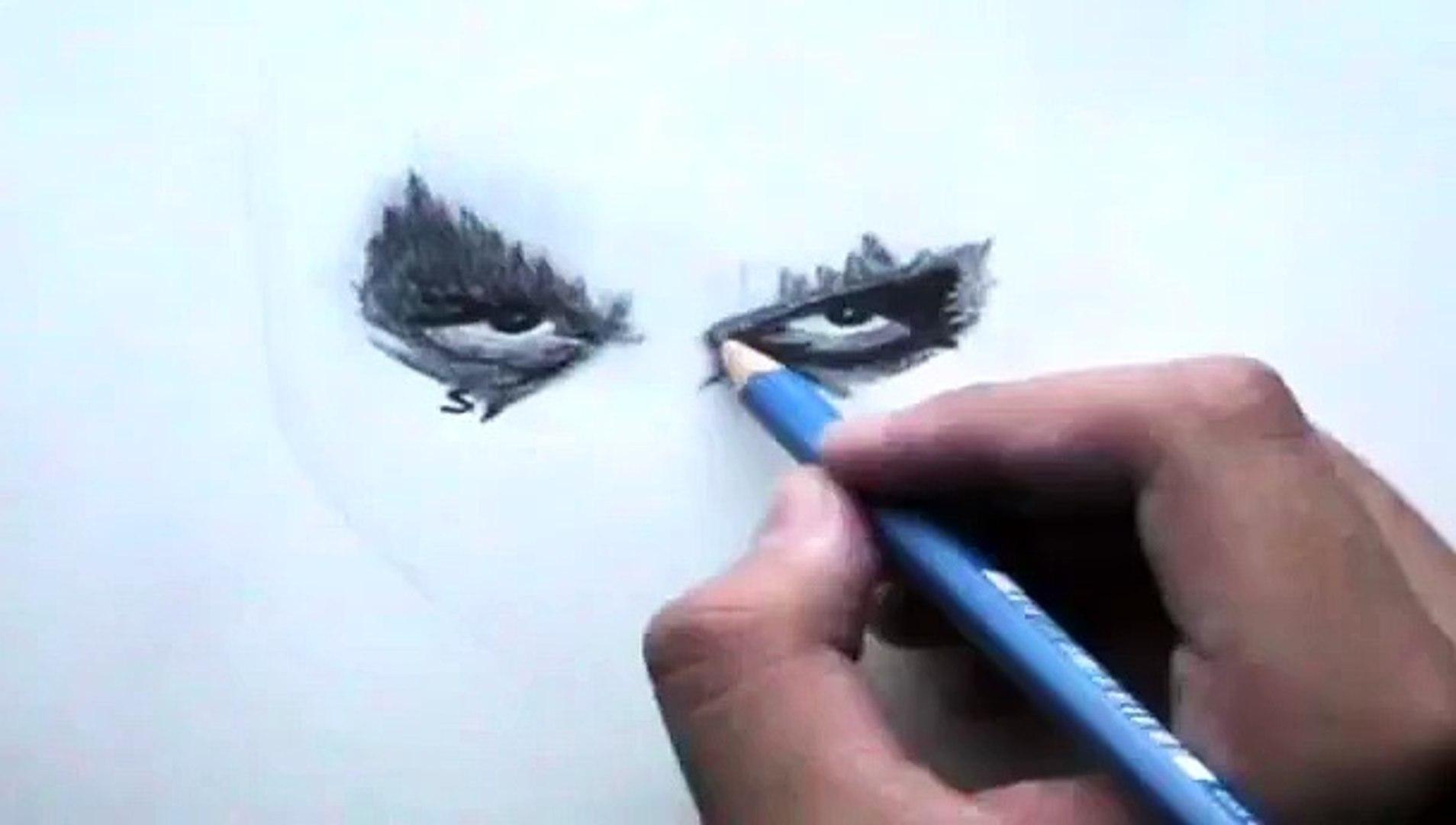 Drawing Heath Ledgers Jokerthe Dark Knight
