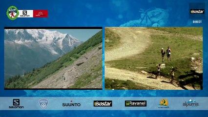 MARATHON- Plateau 10 - Passage Flégère Top 3 Hommes - Chamonix Marathon du Mont-Blanc