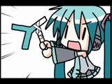 "【Miku Hatsune】Chibi Miku-san ""ちびミクさん""【VOCALOID Anime PV】"