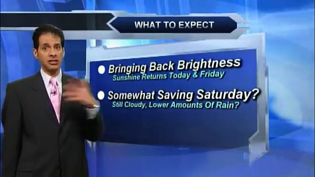 Thursday morning weather forecast for March 12, 2015