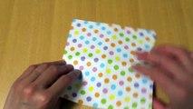 使える折り紙鯉のぼりの箸袋の折り方作り方 創作Chopsticks
